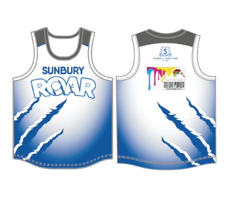 COLOUR PERFECT TRAINING SINGLET
