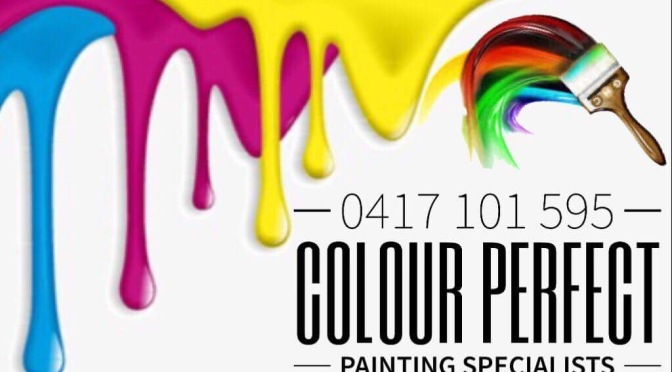 COLOUR PERFECT – NEW SPONSOR