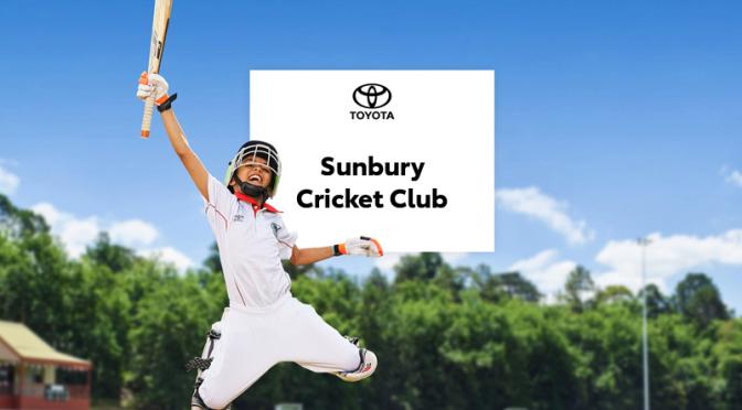 Sunbury CC – Good For Cricket Raffle